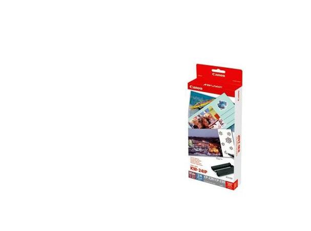 Купить -  Комплект расходных материалов Canon KW-24IP