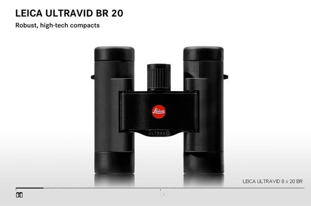 Купить -  LEICA ULTRAVID   8x20 BR black