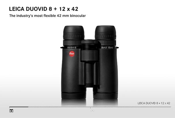 Купить -  LEICA DUOVID   8+12x42 black