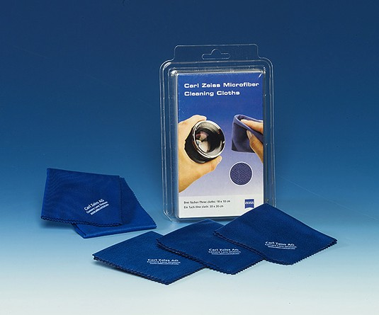 Купить - ZEISS  ZEISS Microfiber Cleaning Cloths - микрофибра (набор из 4х салфеток)