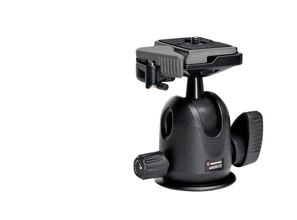 Купить -  Компактная шаровая головка Manfrotto 496RC2 Compact Ball Head (496RC2)