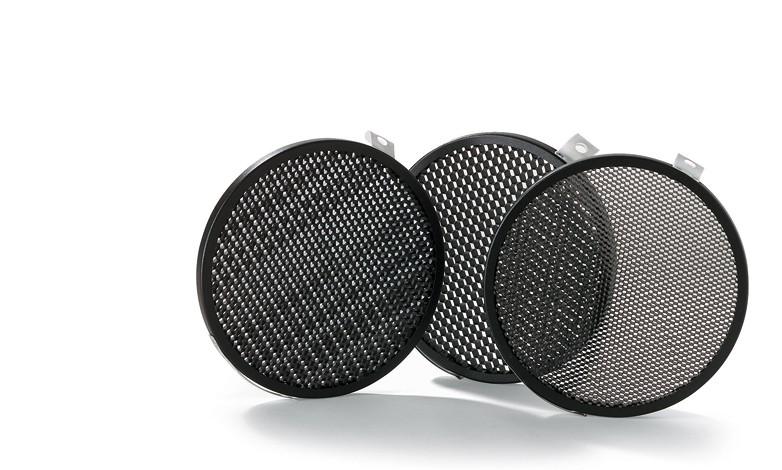 """Купить -  Набор из 3-х сотовых фильтров BOWENS SET OF 3 DISC GRIDS (1/8"""" 3/16"""" 1/4"""") для рефлектора GRID 60° (BW-1864)"""