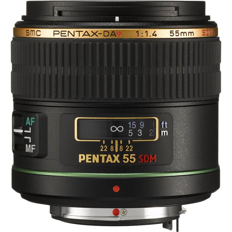 Купить -  Pentax SMC DA* 55mm f/1.4 SDM (Официальная гарантия)