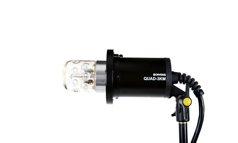 Купить -  Генераторная голова BOWENS 3K MINI HEAD S TYPE - DOME 012 CLR с прозрачным пайрексом (BW-7646)