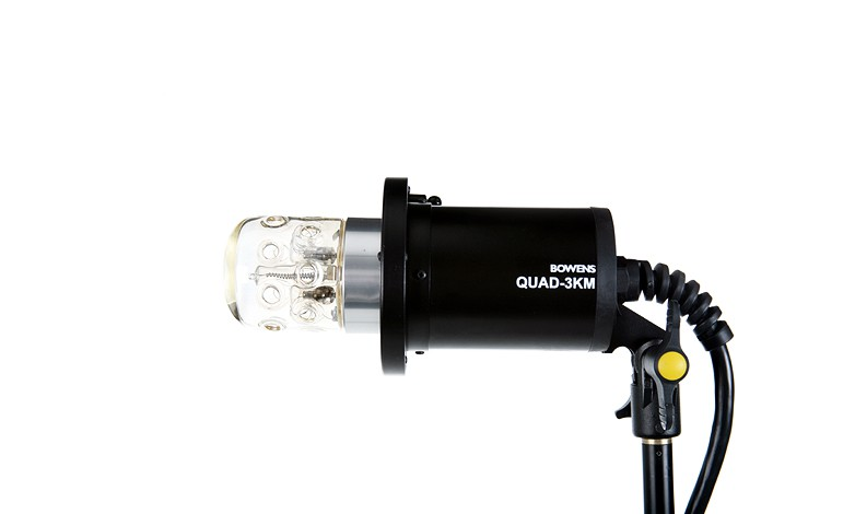 Купить -  Генераторная голова BOWENS 3K MINI HEAD S TYPE - DOME 012 UV с цветокорректирующим пайрексом (BW-7652)