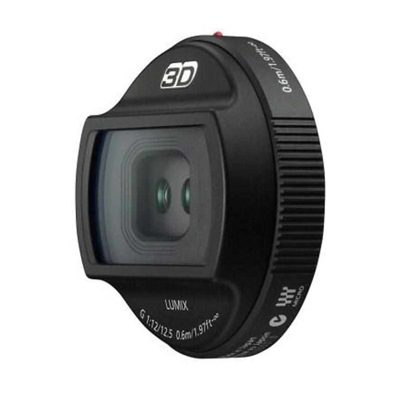 Купить - Panasonic Panasonic Lumix G 12.5mm f/12 3D (H-FT012E)