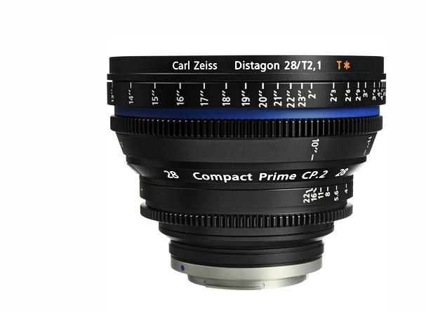 Купить -  Carl Zeiss Compact Prime CP.2 21/T2.9 T* EF mount - объектив для видео с байонетом Canon EF