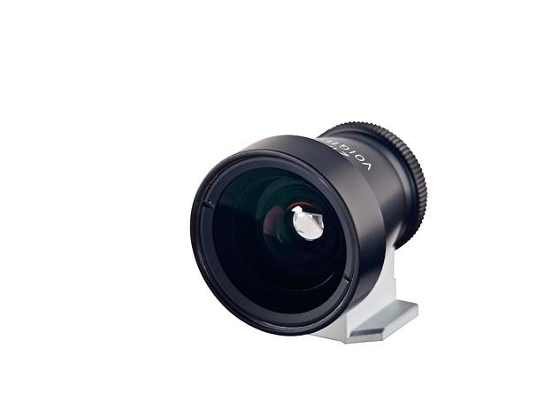Купить -  Voigtlander Viewfinder 21/25 mm Metall black - внешний видоискатель