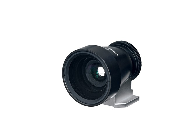 Купить -  Voigtlander Viewfinder 28 mm Metall black - внешний видоискатель