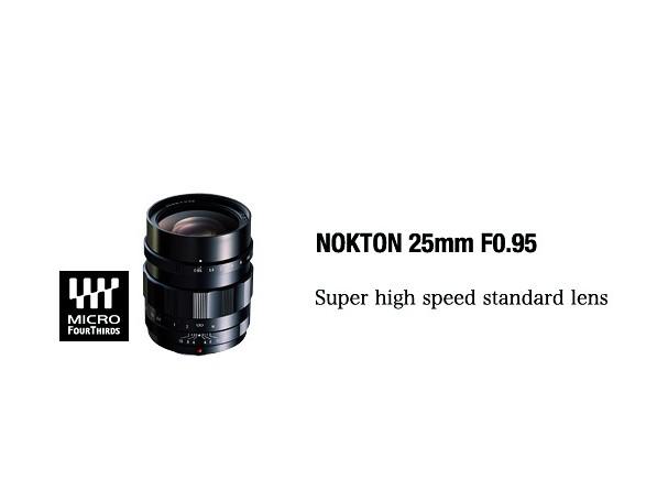 Купить -  Voigtlander Nokton 25 mm F0,95 MFT - объектив с байонетом MFT Micro Four Thirds