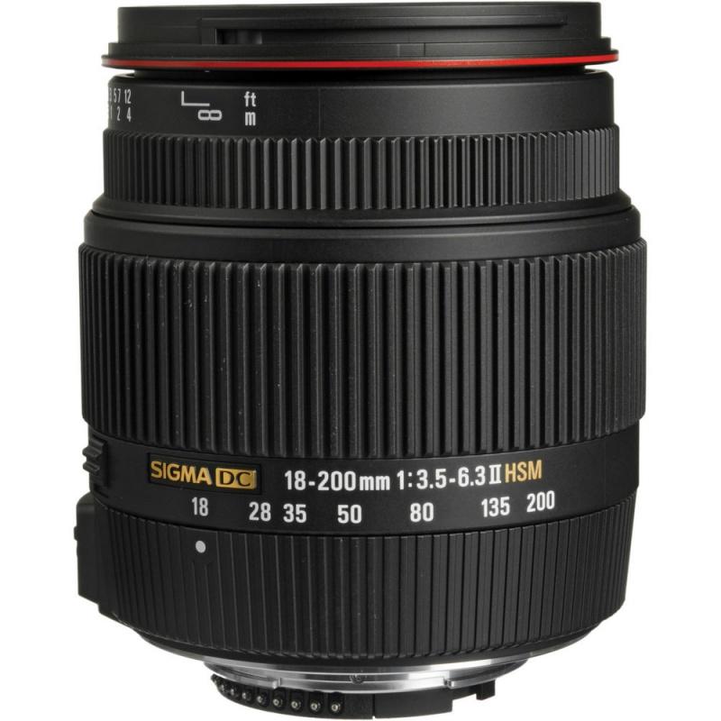 Купить - Sigma Sigma AF 18-200mm F3.5-6.3 DC II OS for Nikon