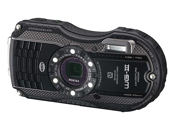 Купить -  Pentax Optio WG-3 Black-Grey  (Официальная гарантия)+ в подарок (карта 8 ГБ, чехол, штатив, непотоп. ремешок)