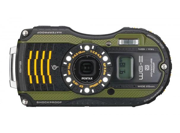 Купить -  Pentax Optio WG-3 GPS Black-Green (Официальная гарантия)+ в подарок (карта 8 ГБ, чехол, штатив, непотоп. ремешок)