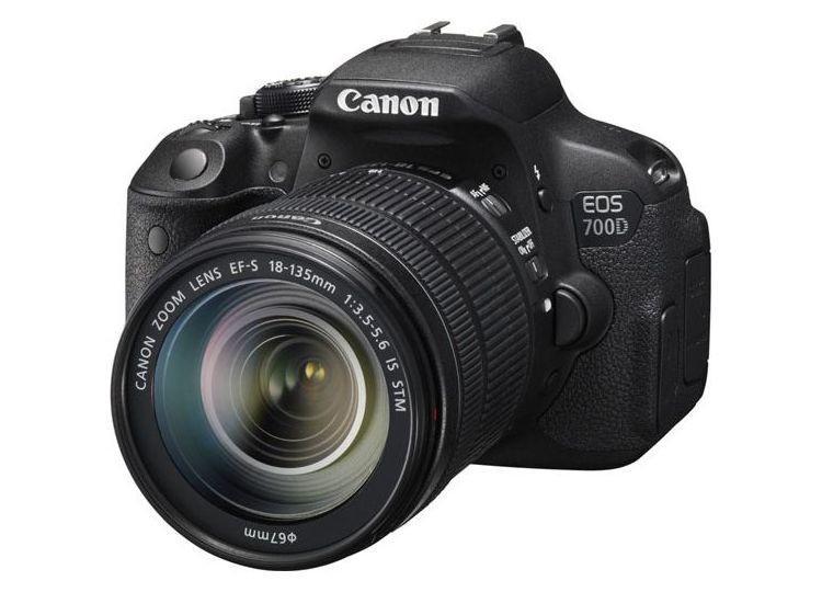 Купить -  Canon EOS 700D + объектив 18-135mm f/3.5-5.6 IS STM (Kit) Официальная гарантия!