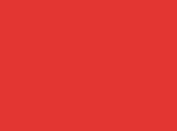Купить -  Бумажный фон BD 1,35х11,0м - Ярко-Красный(Flame-tone) 11152