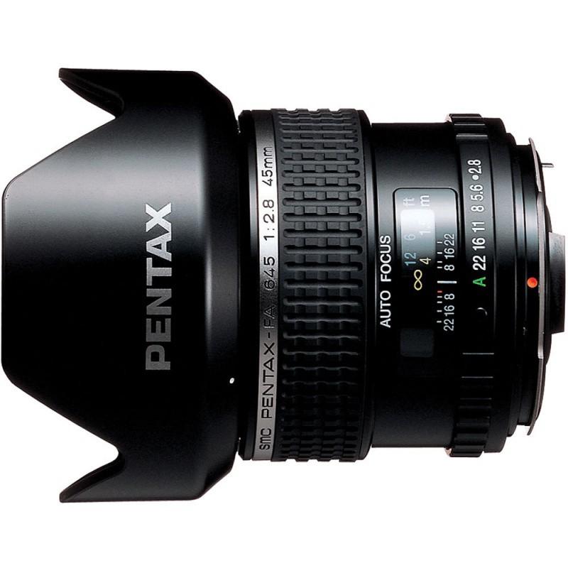 Купить - Pentax Объектив SMC-FA 645 45mm f/2.8 (26335)