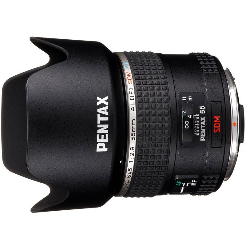 Купить - Pentax Объектив SMC D FA 645 55mm f/2.8 AL[IF] SDM AW (26350)