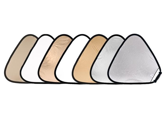 Купить -  LASTOLITE Отражатель треугольный TriGrip 120см Sunlite/Soft Silver (3728) (63892)