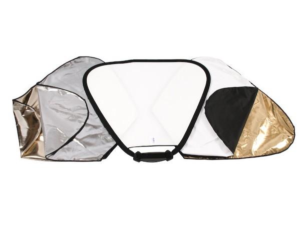 Купить -  LASTOLITE Отражатель треугольный TriFLip 8in1 Delux KIT 75см (3699) (64263)