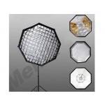 Фото -  Октогональный софтбокс с сотами жаропрочный Menik 200 см