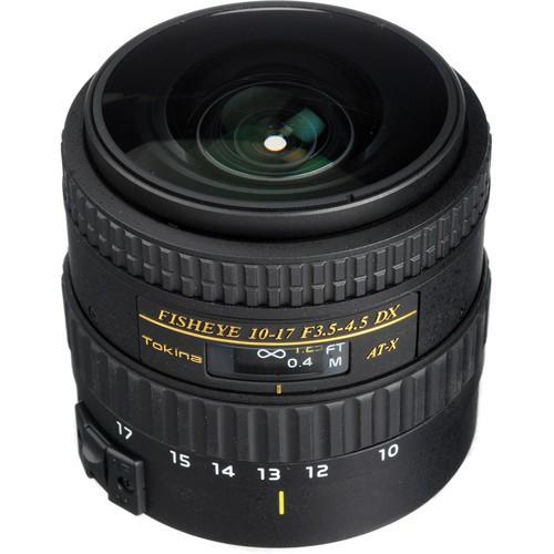Купить -  Tokina AT-X DX NH 10-17mm f/3.5-4.5 Fisheye (Full Frame) (Canon)