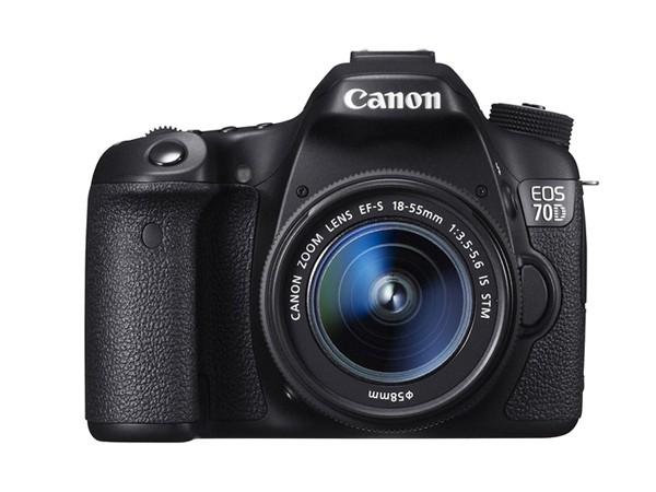 Купить -  Canon EOS 70D + объектив 18-55mm f/3.5-5.6 IS STM (Kit) Официальная гарантия!