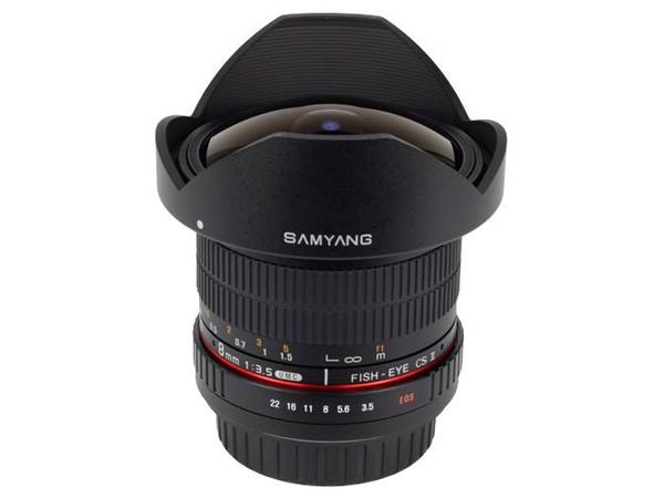 Купить -  Samyang 8mm f/3.5 AS IF MC Fish-eye CS AE Nikon F