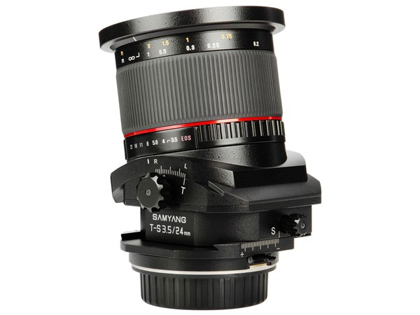 Купить -  Samyang T-S 24mm f/3.5 ED AS UMC Canon EF