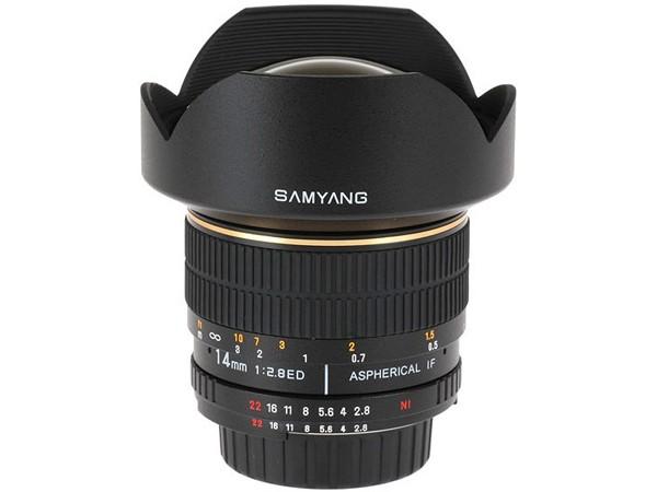 Купить -  Samyang 14mm f/2.8 ED AS IF UMC AE Nikon F (с чипом)
