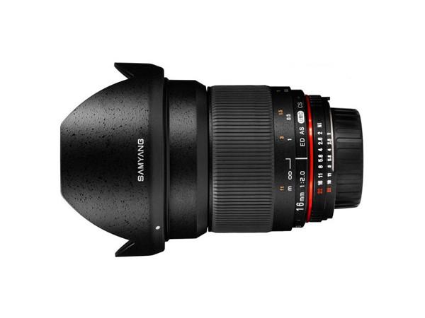 Купить -  Samyang 16mm F2.0 ED AS UMC CS Canon EF