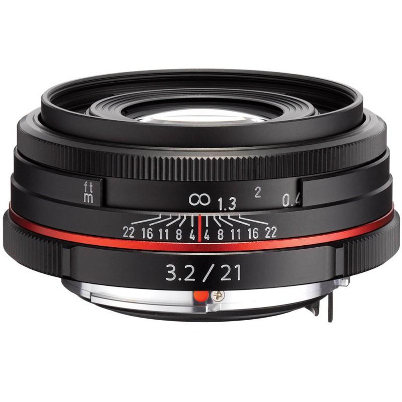 Купить - Pentax Pentax HD DA 21mm f/3.2 AL Limited Black (Официальная гарантия)