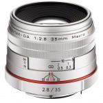Фото - Pentax HD Pentax DA 35mm f/2.8 Maсro Limited Silver (Официальная гарантия) + Денежный сертификат.