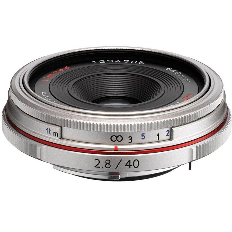 Купить - Pentax Pentax HD DA 40mm f/2.8 Limited Silver (Официальная гарантия)
