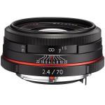 Фото - Pentax HD Pentax DA 70mm f/2.4 Limited Black (Официальная гарантия) + В подарок объектив Lensbaby!