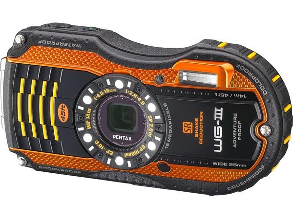 Купить -  Pentax Optio WG-3 Black-Orange+ в подарок (карта 8 ГБ, чехол, штатив, непотоп. ремешок)