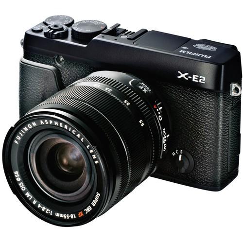 Купить - Fujifilm Fujifilm X-E2 + 18-55mm F2.8-4.0 Kit Black