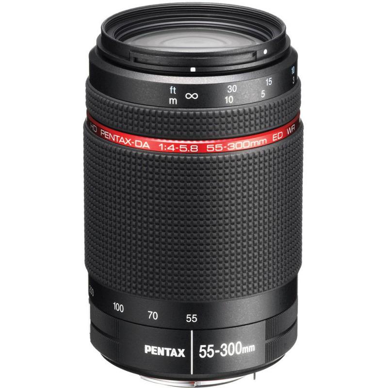 Купить - Pentax Объектив HD PENTAX DA 55-300mm f/4-5.8 ED PLM WR RE (S0021277)