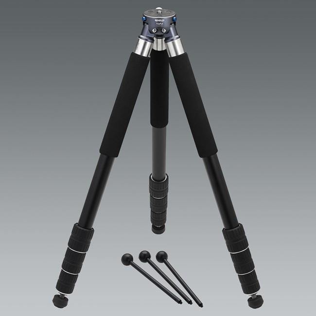 Купить -  Штатив NOVOFLEX TrioPod A2840 Алюминиевый, 4 секции, мини ноги и чехол в комплекте ( TRIOA2840 )