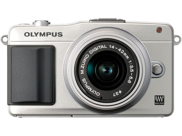 Купить -  Olympus E-PM2 Kit (14-42mm) Flash Air Silver/Silver (Официальная гарантия)