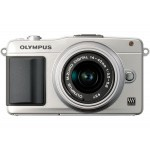 Фото -  Olympus E-PM2 Kit (14-42mm) Flash Air Silver/Silver