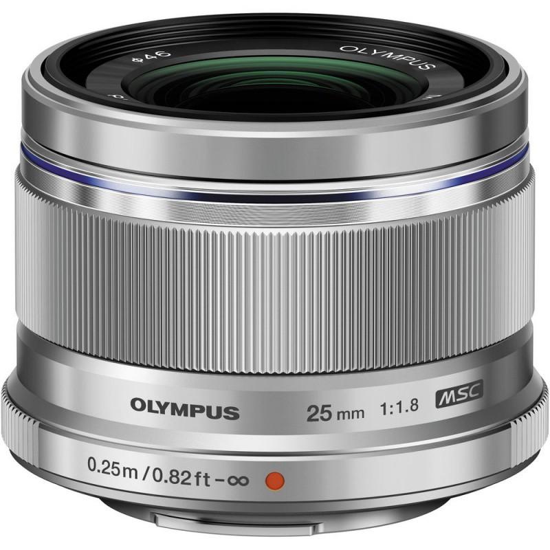 Купить - Olympus Olympus ES-M 25mm 1:1.8 Silver (V311060SE000)  (Официальная гарантия)