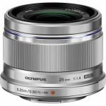 Фото - Olympus Olympus ES-M 25mm 1:1.8 Silver (V311060SE000)  (Официальная гарантия)