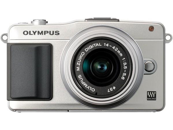 Купить -  Olympus E-PM2 Kit (14-42mm) White/Silver (Официальная гарантия)