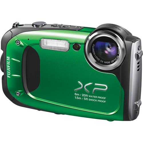 Купить -  Fujifilm FinePix XP60 Green