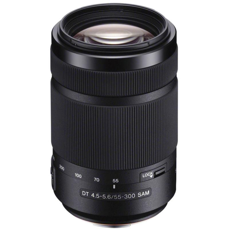 Купить - Sony Sony 55-300mm f/4.5-5.6 DT SAM DSLRA100 (SAL55300.AE)