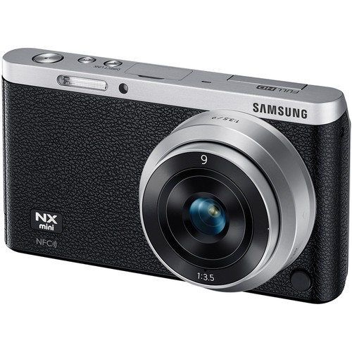 Купить -  Samsung NX mini + 9mm Black + карта памяти в подарок на 16Gb