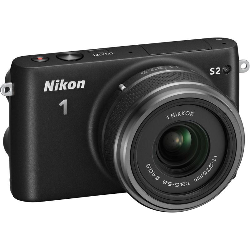 Купить - Nikon Nikon 1 S2 kit (11-27.5mm) Black - В подарок карта памяти 16 Gb !!!