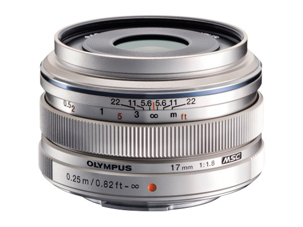 Купить -  Olympus EW-M1718 17mm 1.8 Silver (Официальная гарантия)