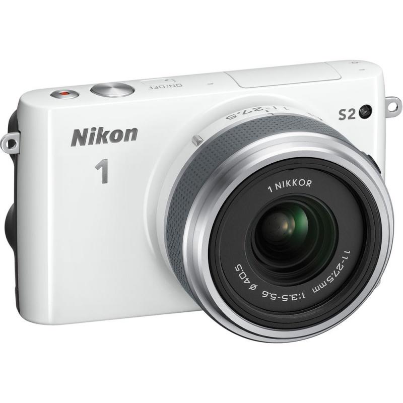 Купить - Nikon Nikon 1 S2 kit (11-27.5mm) White - В подарок карта памяти 16 Gb !!!