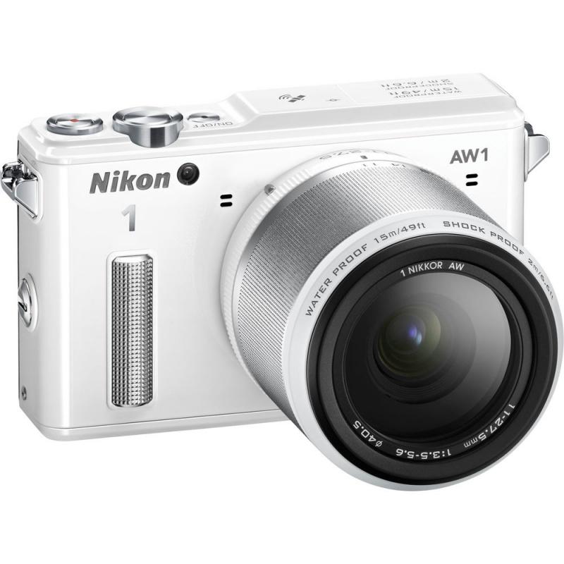 Купить - Nikon Nikon 1 AW1 + AW 11-27.5mm White - Подарочный сертификат на 1000 гривен !!!